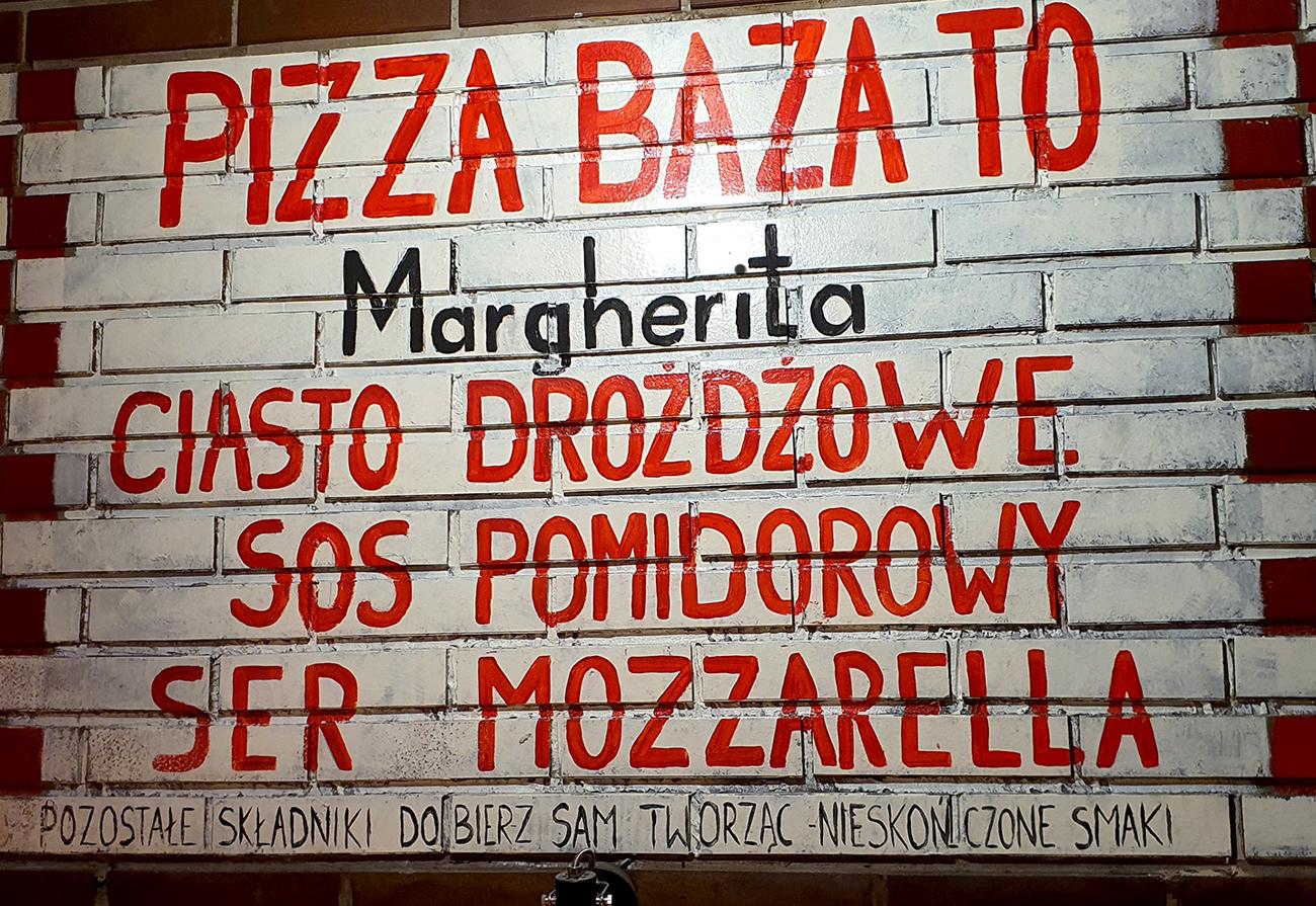 pizza baza